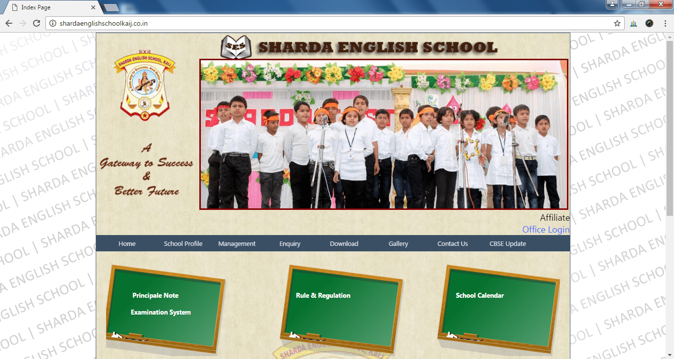Sharda English School Kaij